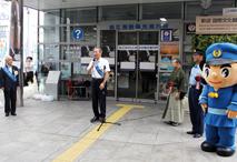 松浦松江市長が市民の協力を呼びかけました