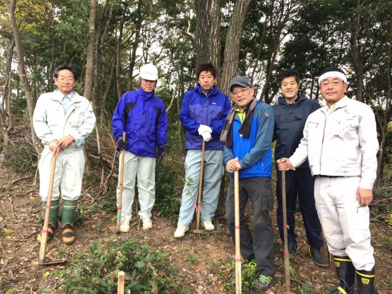 茶臼山環境整備活動に参加のメンバー