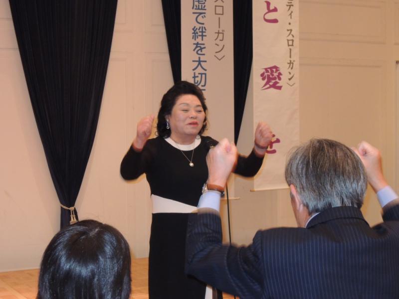 木村第一副会長の初めてのロアー!初々しいです。