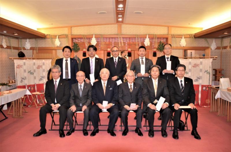 おめでとうございます!松江3クラブ歳男のメンバーの皆さん