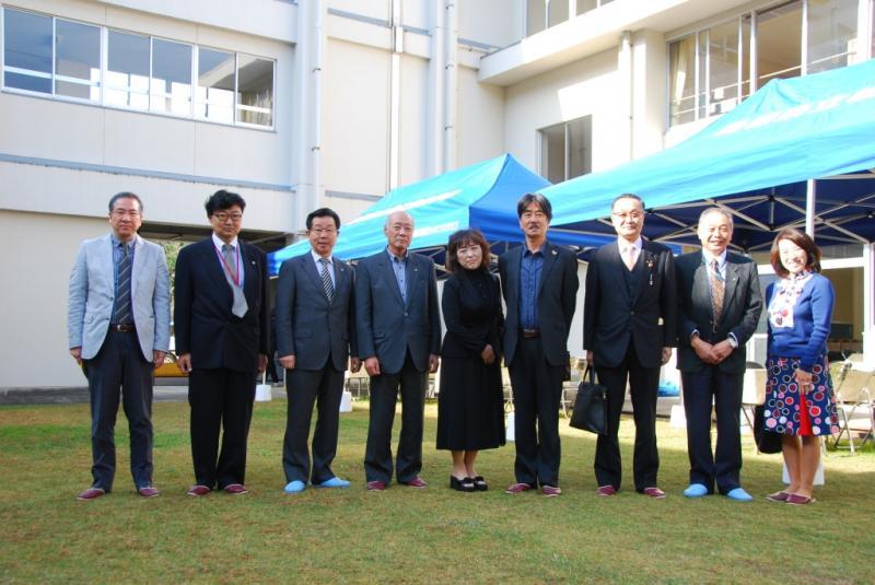 松養まつりに参加された松江湖城LCの皆さん
