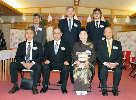木村会長と歳男の皆さん