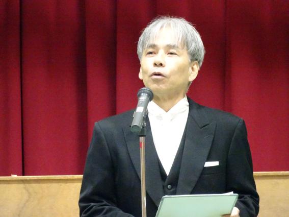 三島校長先生の挨拶