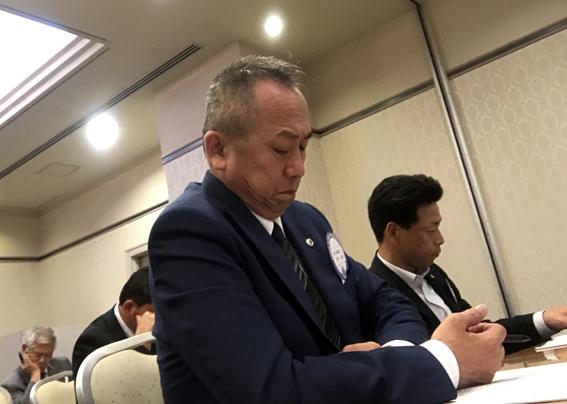 当クラブの宮本次期会長、石松次期幹事