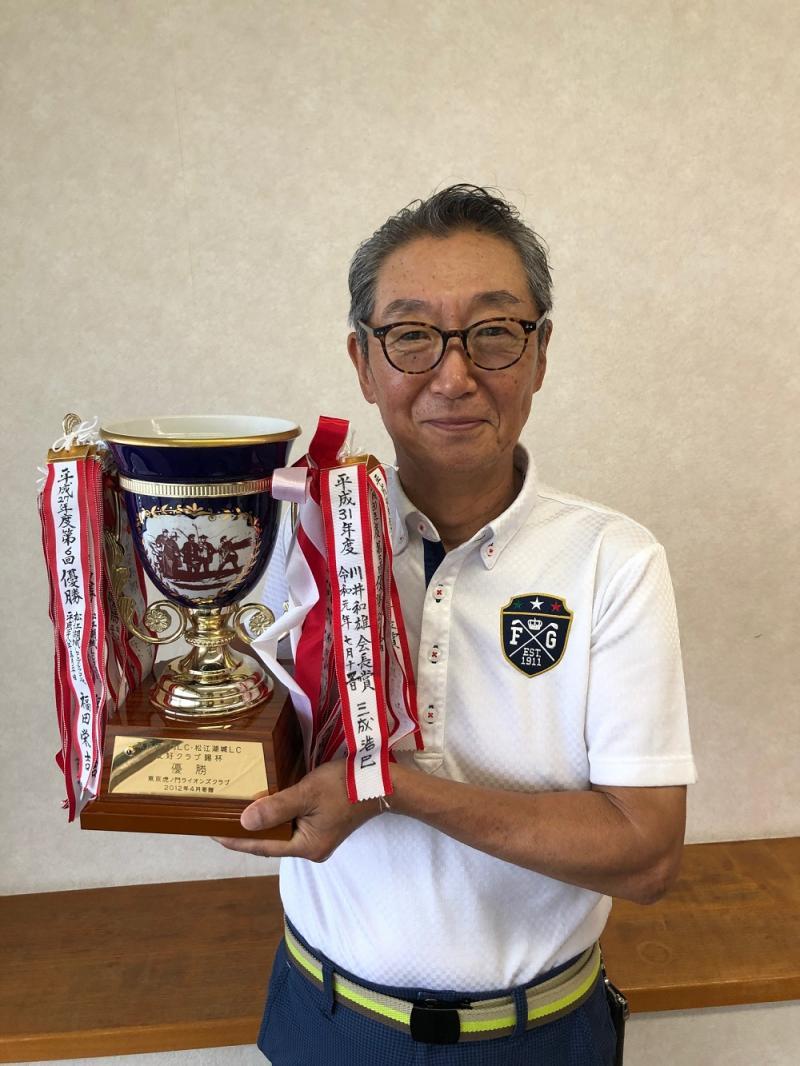 2020年度第1回優勝者 木山正美さん
