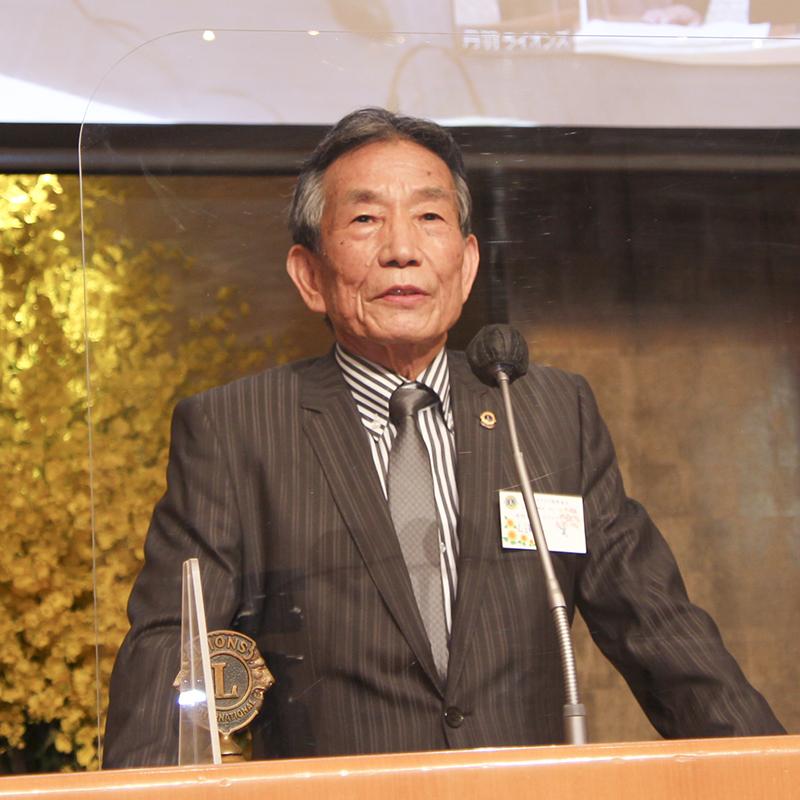 10周年友好委員長 丹羽L.澤樹